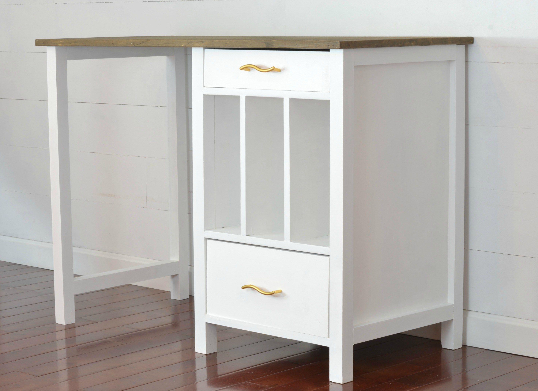 Build it yourself desk plans i am a homemaker desk