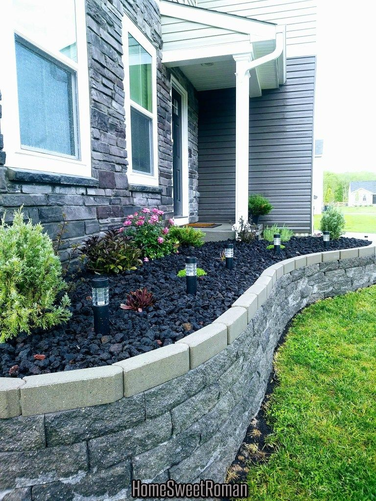 Photo of Raised Flower Bed In Front Of House (Part 2: The Reveal) –