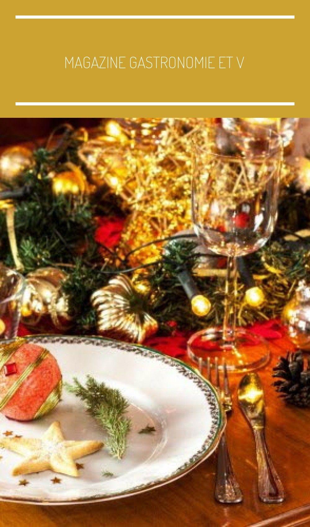 Magazine Gastronomie et Vins Noël un menu équilibré