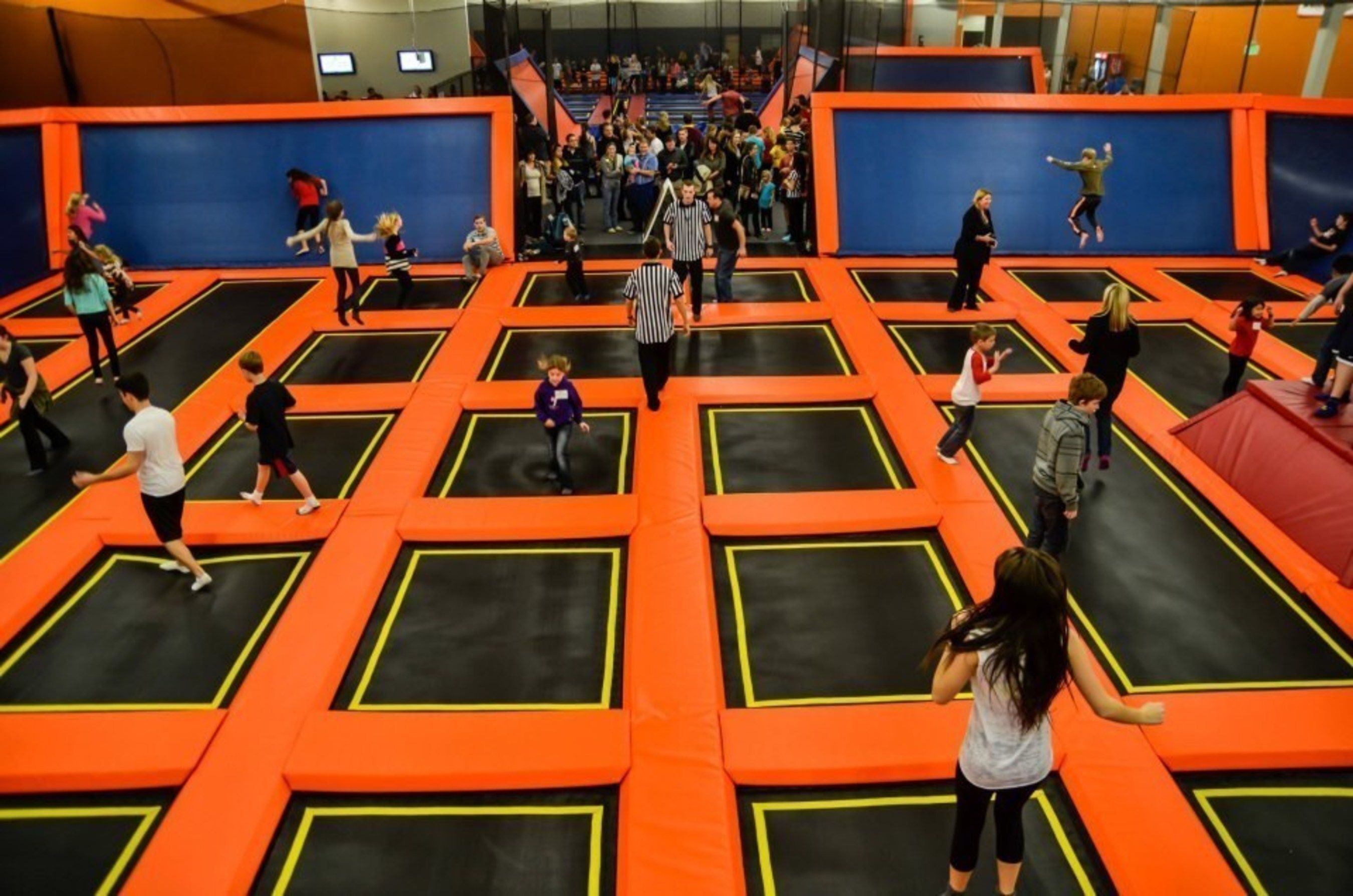 Big Air Trampoline Task Force Laser Tag Trampoline park