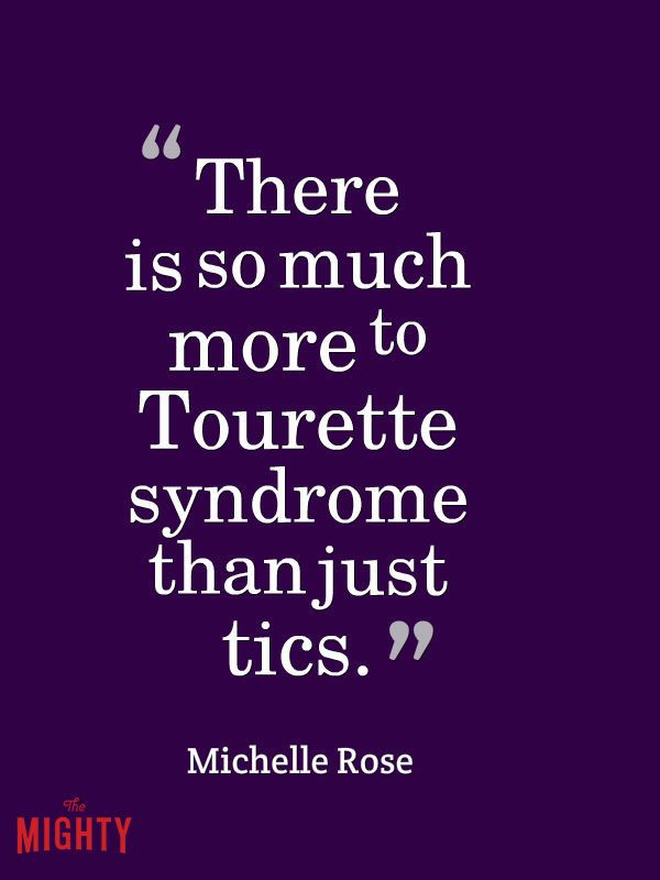 14 Things People With Tourette Syndrome Wish Others