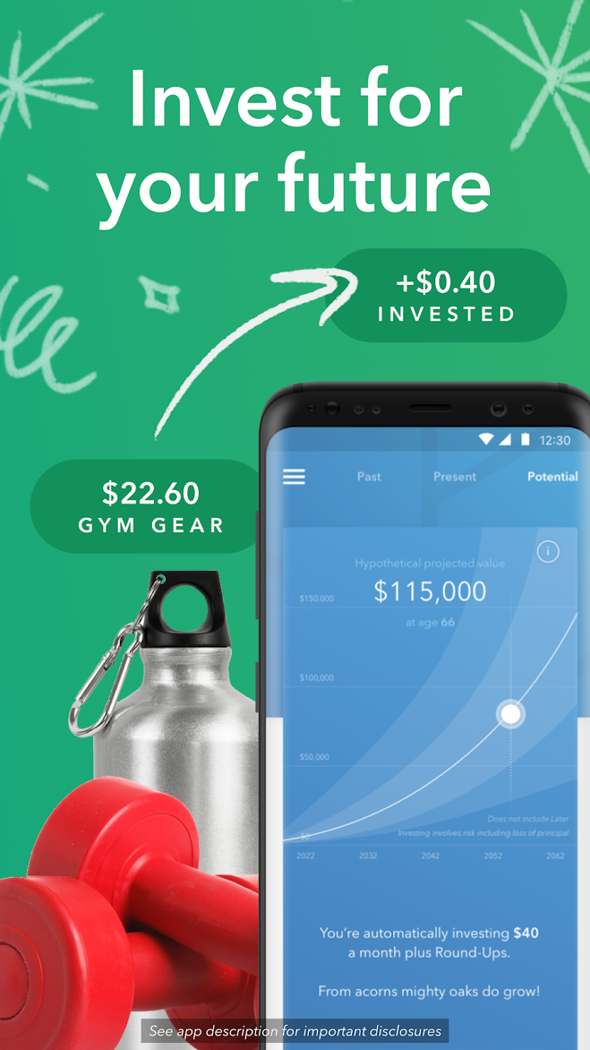 As a beginner to investing, I love using my Acorns app to