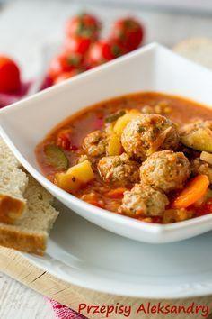 Przepisy Aleksandry Sulu Kofte Turecka Zupa Z Pulpecikami Soup