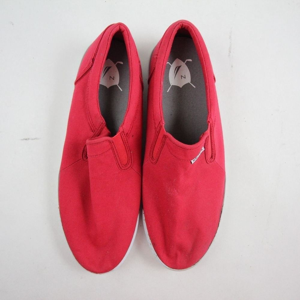 34b2f8ca Nautica Men's Canvas Mocassins Size 10 Solid Red Casual Slip On Comfort  Shoes #fashion #