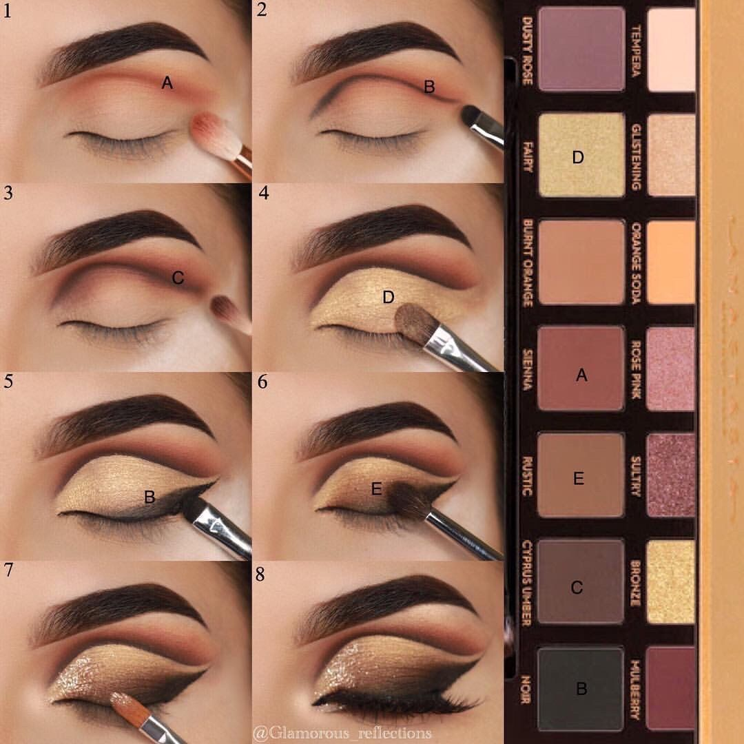 Step By Step using Soft Glam by Anastasia Beverly Hills