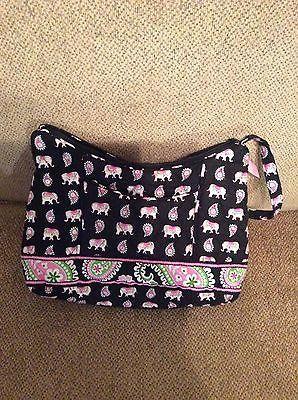 Vera Bradley Shoulder Bag in Pink Elephants https://t.co/jMKOBdI7cy https://t.co/qnQGRCLGxw