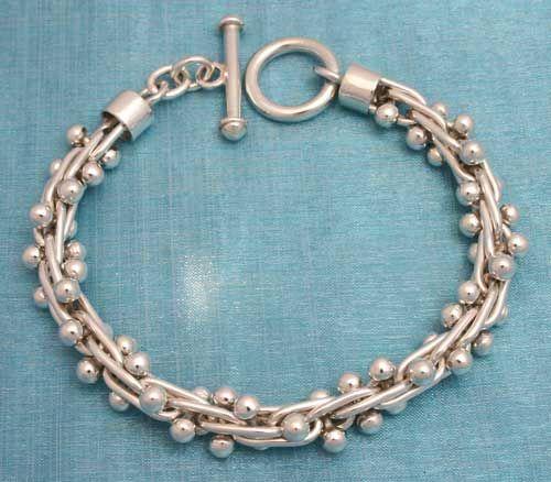 2782bef33f4c Joyeria de Plata. Silver Jewelry. Brazalete de Plata