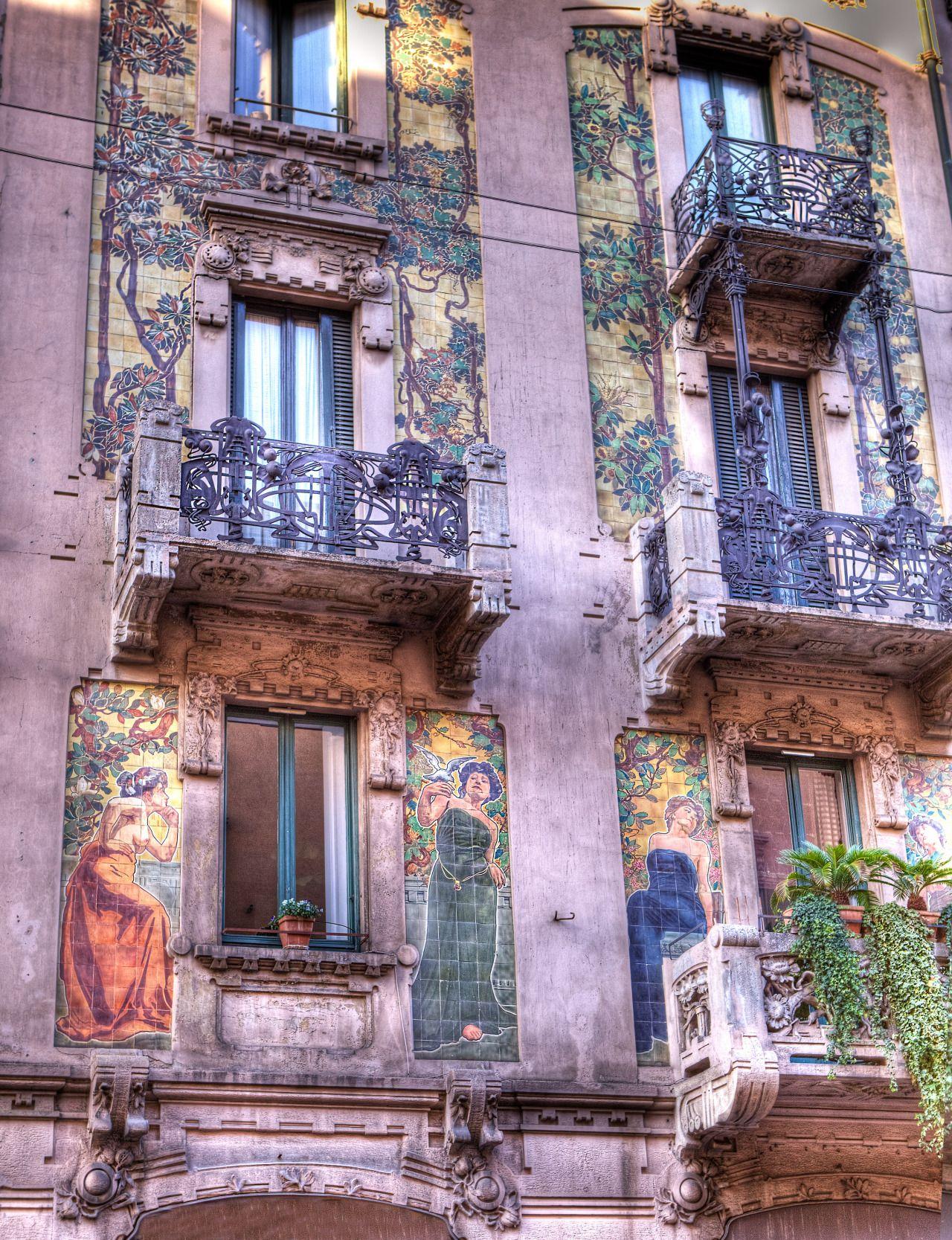 perceptionsoftheworld:Casa Galimberti - Milanese Art ...