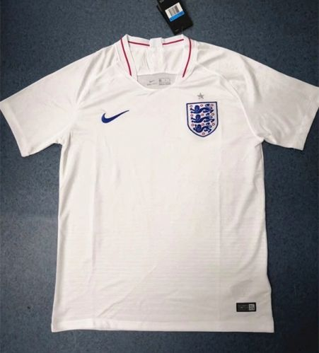 800a55d3f 2018 World Cup England Home White Thailand Soccer Jersey AAA ...