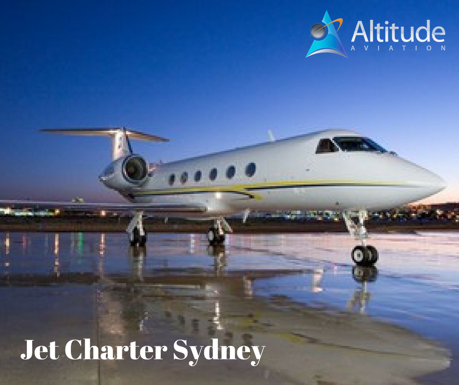 Altitude aviation specialize in jet charter Sydney