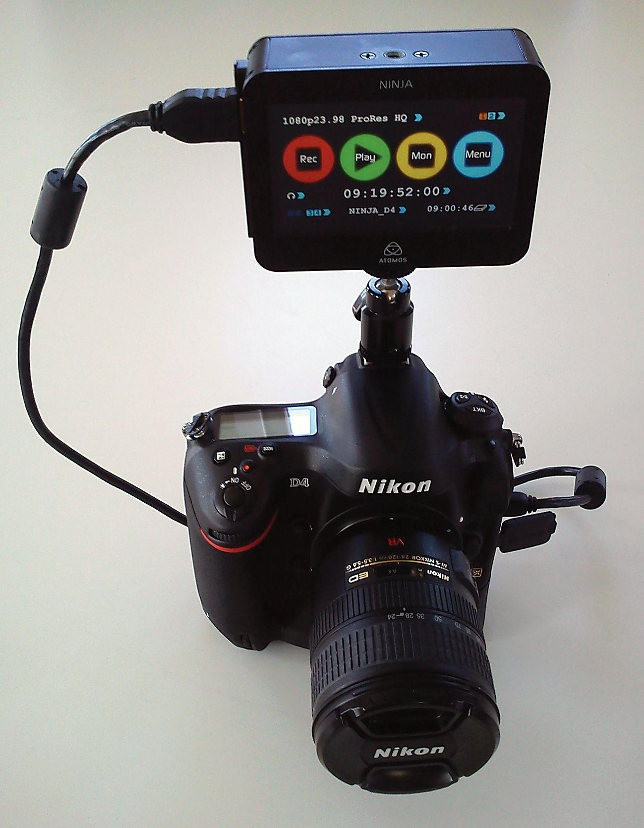 Atomos - The Ninja - HDMI ProRes HDD or SSD Recorder