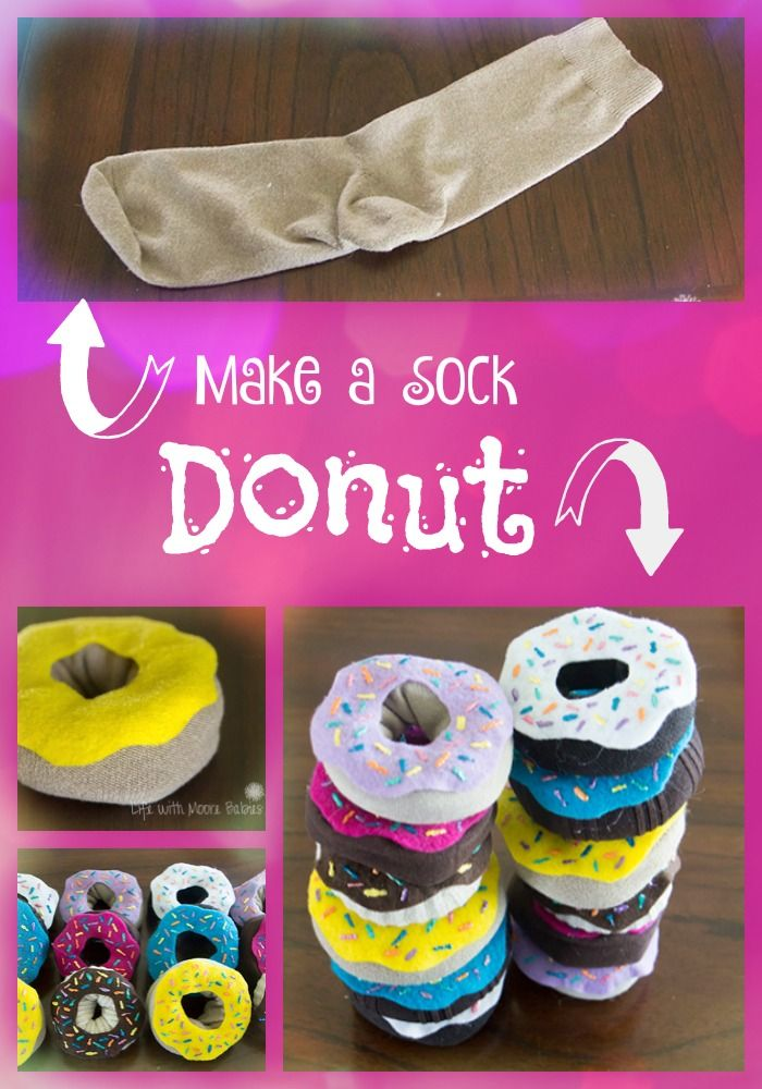 pretend donuts made from