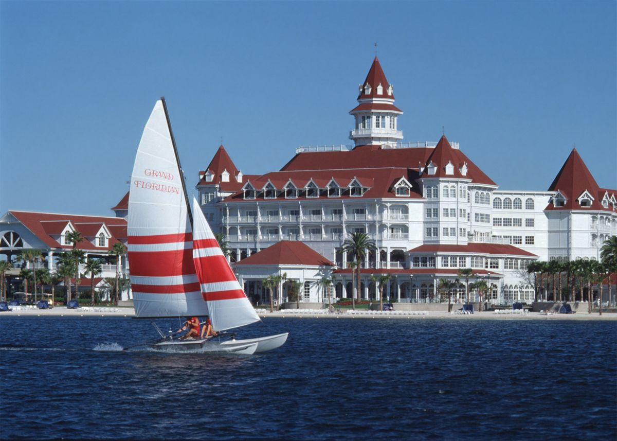 The Grand Floridian At Walt Disney World In Florida This Is Where We