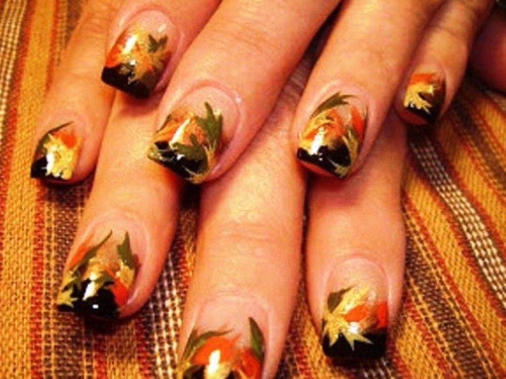 Images For > Autumn Nails Designs | Nails | Pinterest | Autumn nails ...