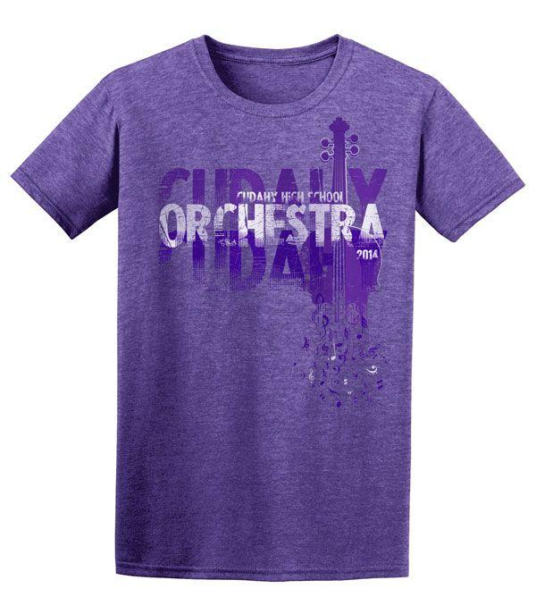 Cudahy High School Orchestra T-Shirt | T-Shirts by Sandy | Music