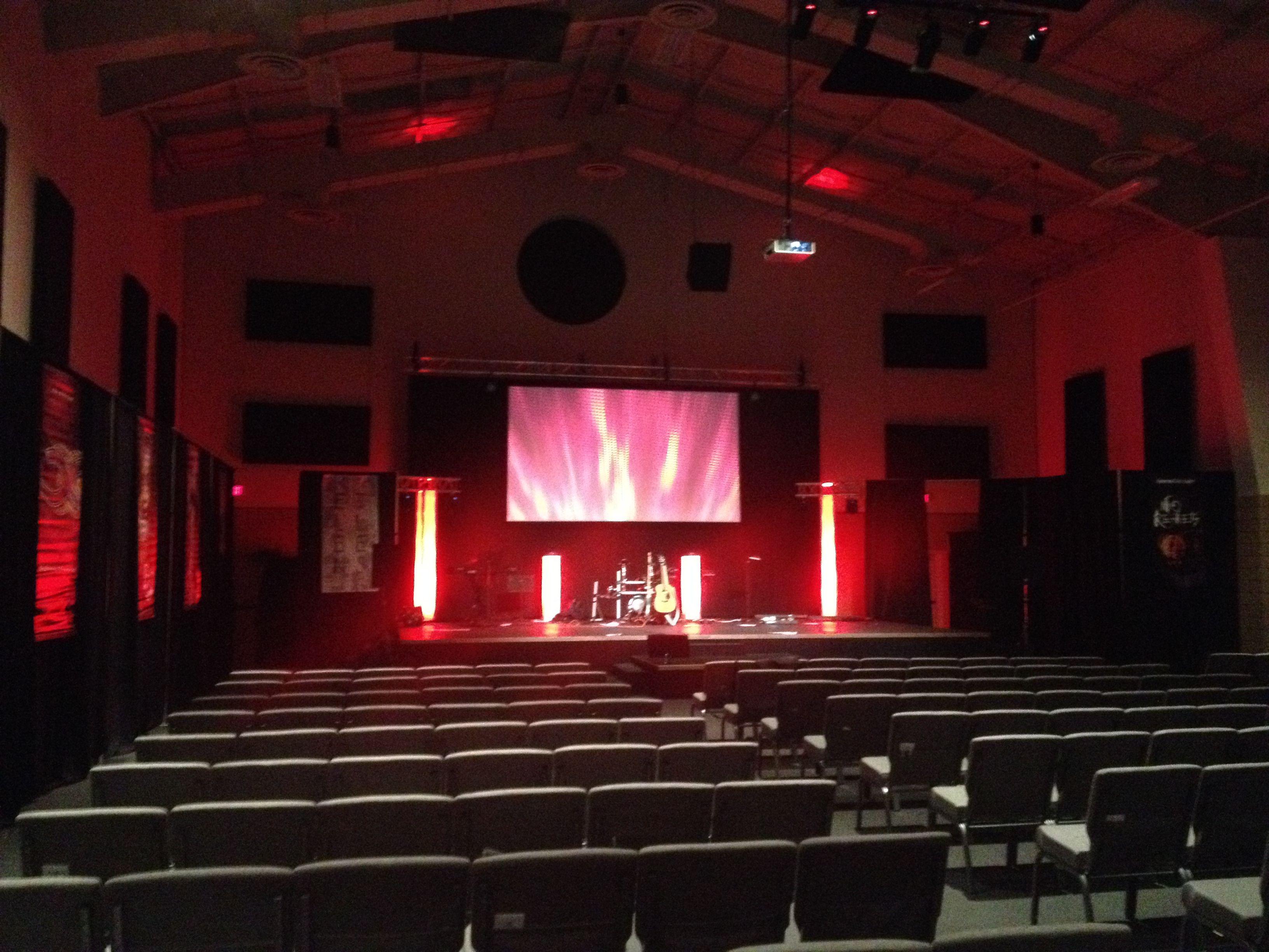 Gym Venue, Christ's Place Church, Lincoln, NE Design