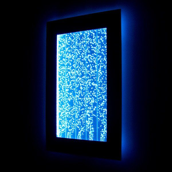 """Led Wall Light Feature: 300WMB 30"""" Wall Mount Bubble Panel LED Indoor Fountain"""