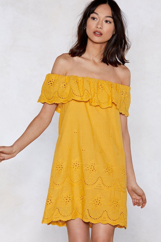 8b69889e66 Move Over Off-the-Shoulder Dress | fashion | Dresses, Shoulder dress ...