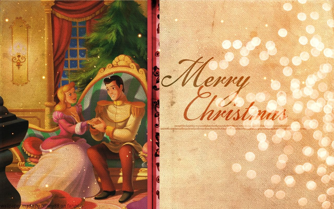 Hd Wallpapers Cinderella Christmas Disney Princess Wallpaper 27631941 1280x800