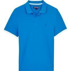 Kurzarm-Poloshirts für Herren -  Herren Ready to Wear – Solid Polohemd aus Baumwolle für Herren – Polohemd – Palatin – Blau - #für #Herren #KurzarmPoloshirts #MiraDuma #MiroslavaDuma #RedCarpetDresses #RedCarpetLooks