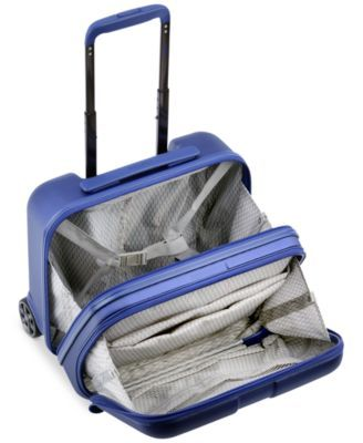 ea896fa76 Delsey Helium Shadow 4.0 Under-Seat Suitcase, Created for Macy's - Blue Hardside  Spinner