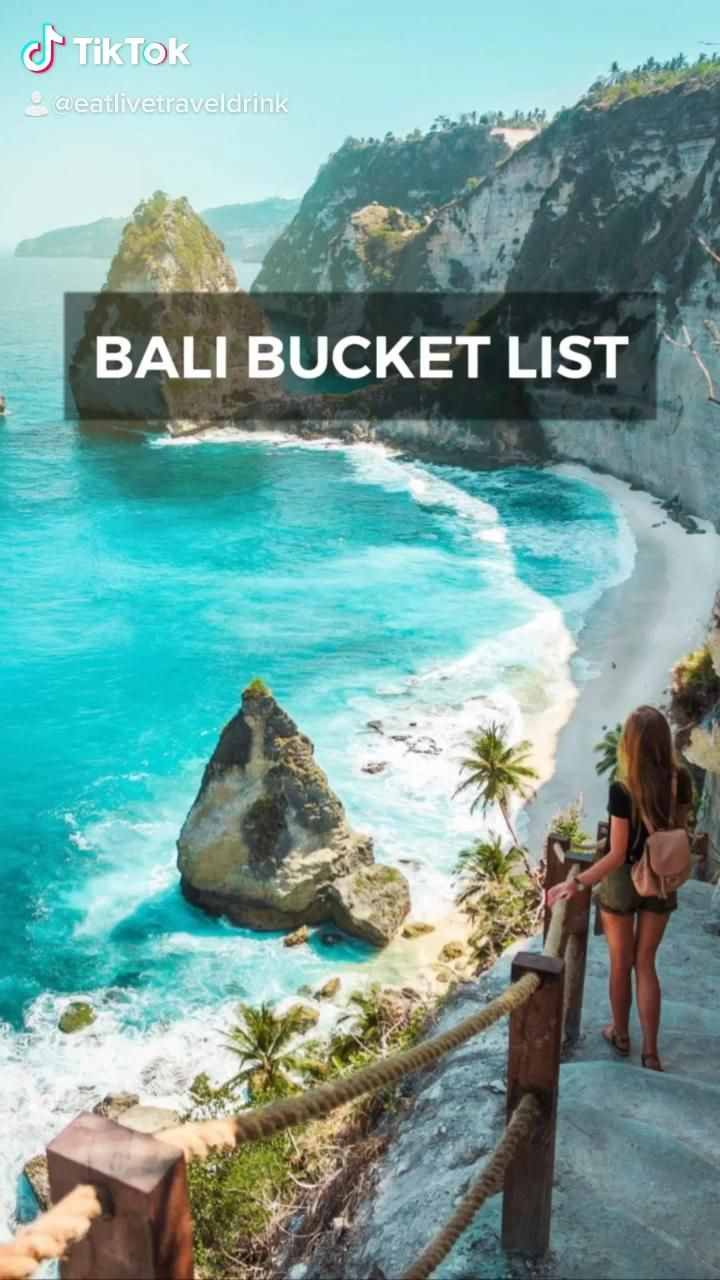 The most epic Bali bucket list! These are the best things to do in Bali! | Bali trip | Instagrammable places in Bali | what to do in Bali | Bali travel |
