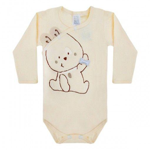 a82bcd42d Body Bebê Menino Orelhinhas - Patimini    764 Kids Loja Online ...