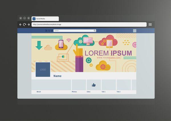 Rickymrinaldi Social Media Cover Template Designs.net #SocialMediaCover #Template #Designs #GraphicDesign #SocialMedia #Online #Network #facebook