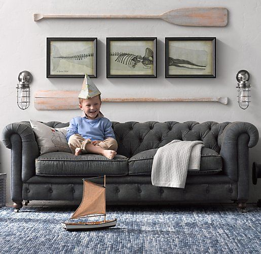 Love This Kids Couch From Restoration Hardware