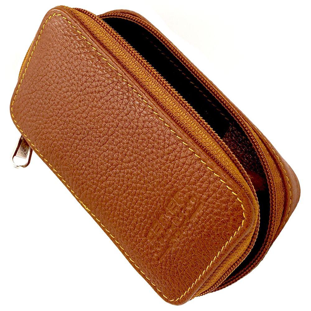 Parker Leather Safety Razor & Blade Protective Storage