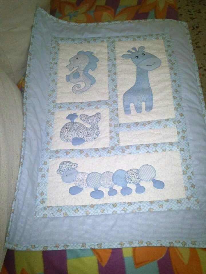 Colcha bebe ni os pinterest colchas bebe y beb - Colchas cuna patchwork ...