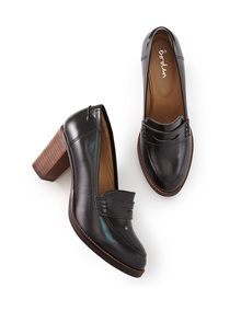 Boden High Heeled Loafer. WANT!