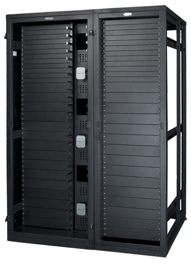 High Density Closed Rack Nrs E Series 800 With Hdc Locker Storage Cable Management Server Rack