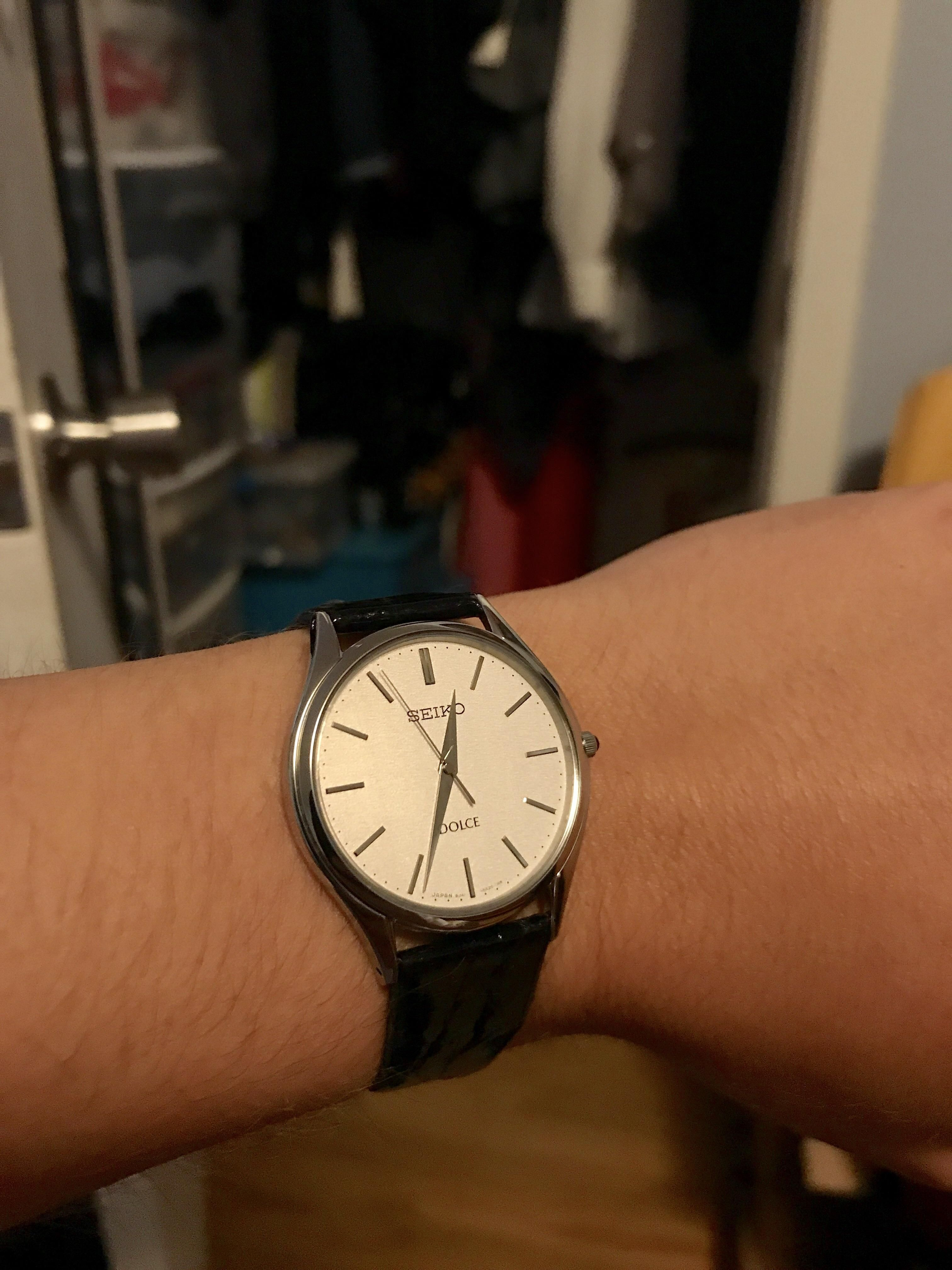 Seiko Sacm171 Came In Perfect Dress Watch Great Watches Around Bulova 90271 Jam Tangan Pria Silver