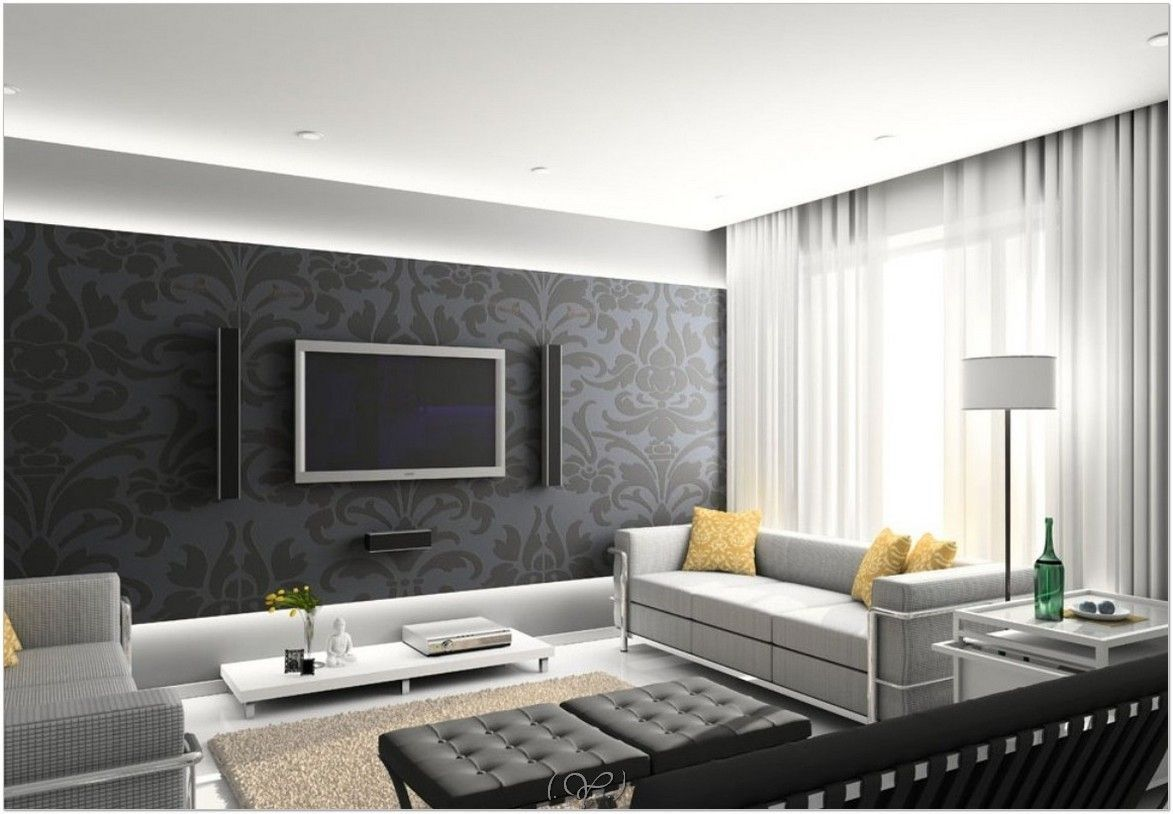 Exclusive Picture of Simple Wall Pattern Ideas  Minimalist living