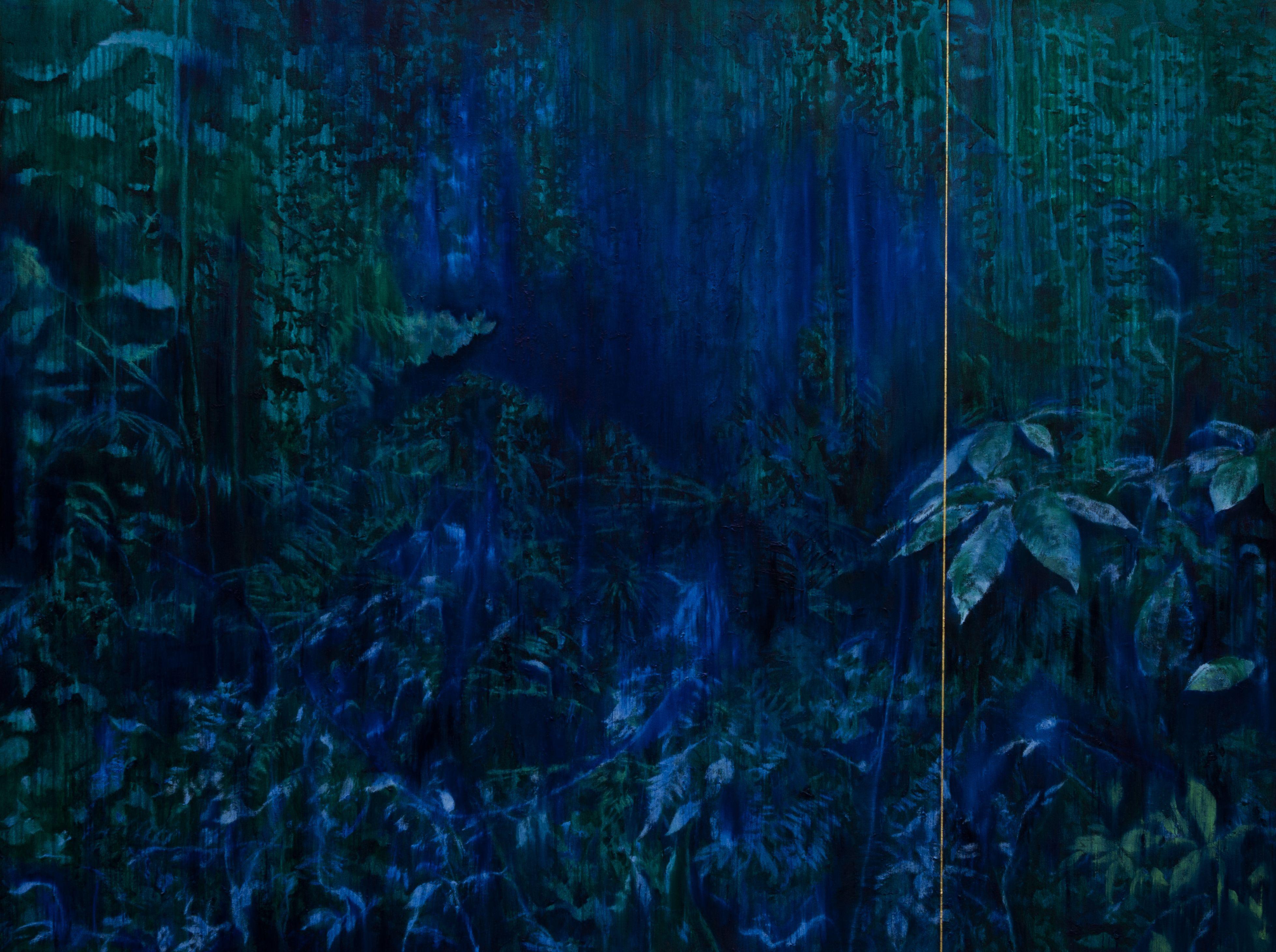 A Floresta | 150 x 200 cm | óleo s/ tela | 2014
