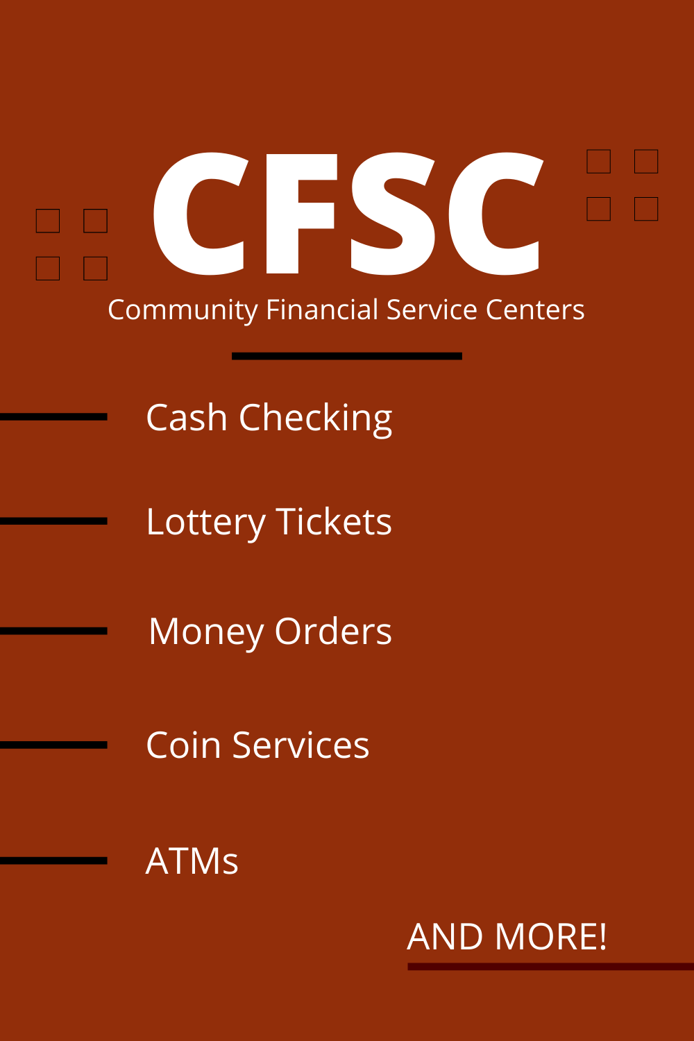 Currency Exchange Money Transfer Check Cashing Financial Services