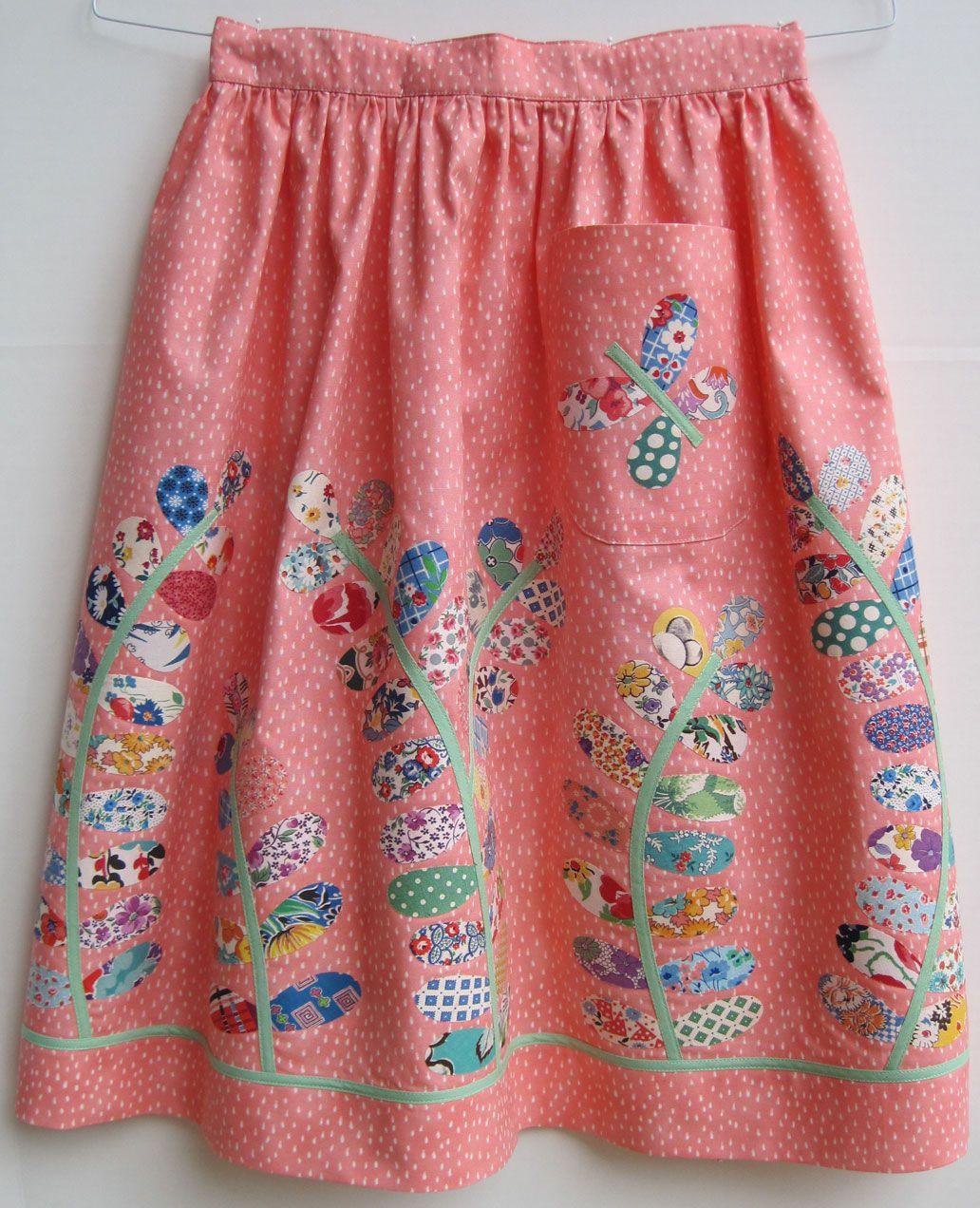 cute kitchen aprons price of cabinets apron with vintage petal quilt pieces apronista
