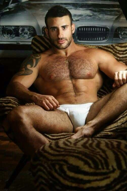 Men sexy hairy