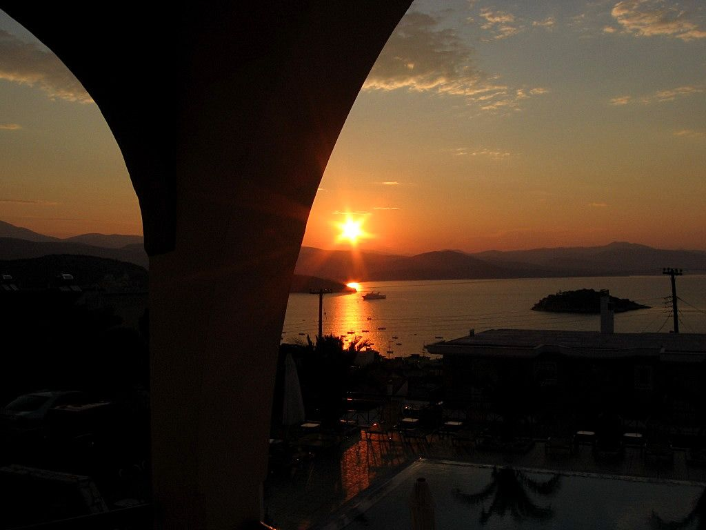 Gythio is a port town in the southern Peloponessos with a lot of good fish restaurants Peloponesse - Greece