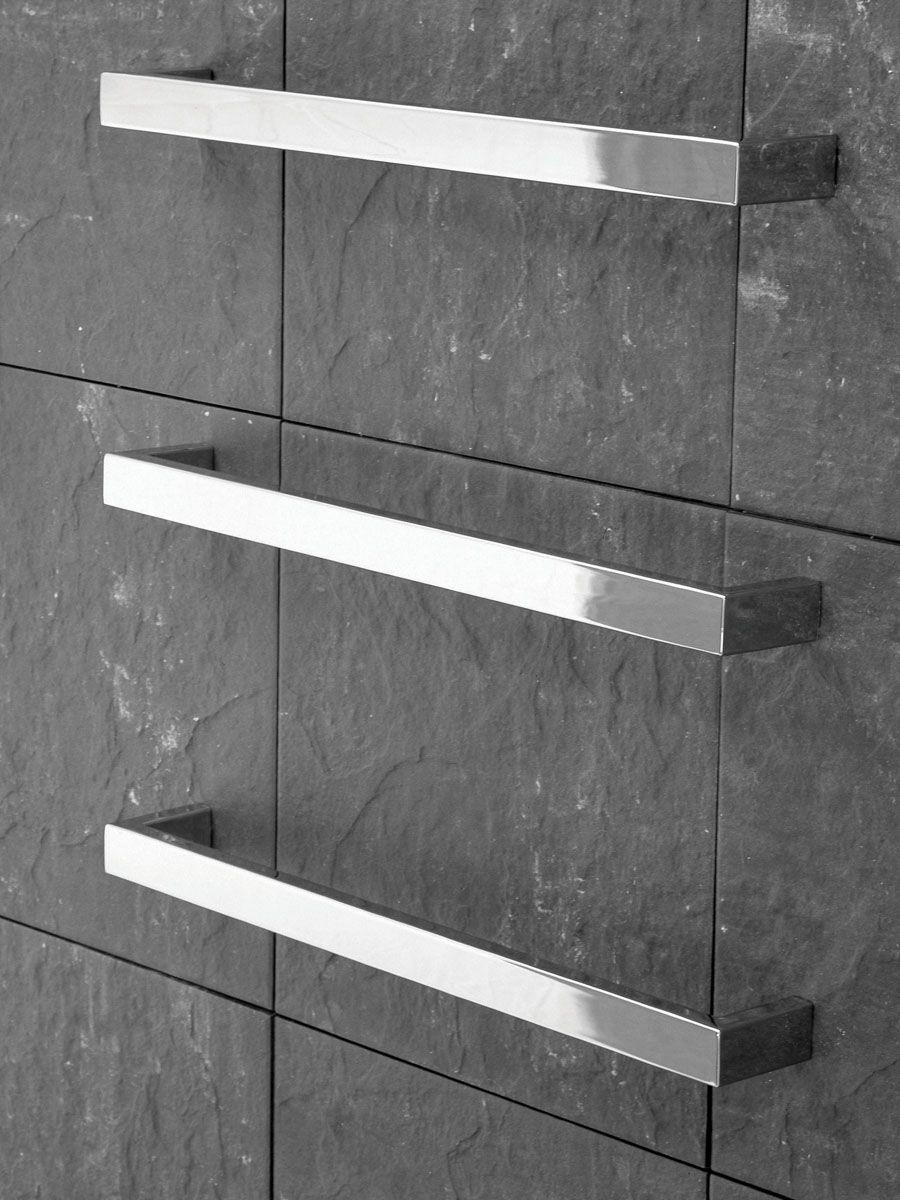 Kado | Quad | Wall Mounted Heated Towel Rail minimal ...