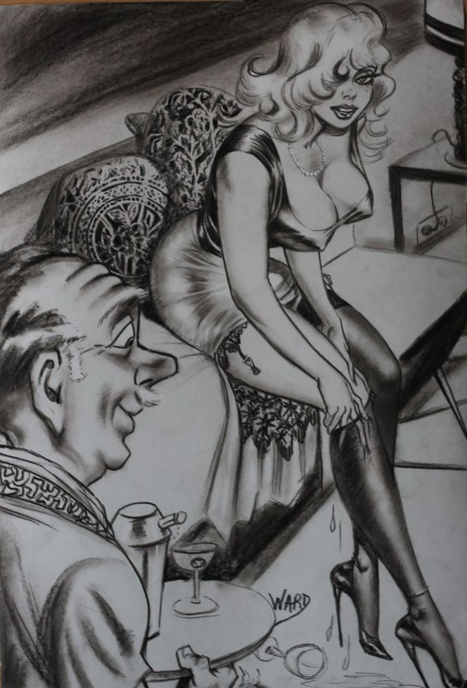Erotic cartoons and drawings