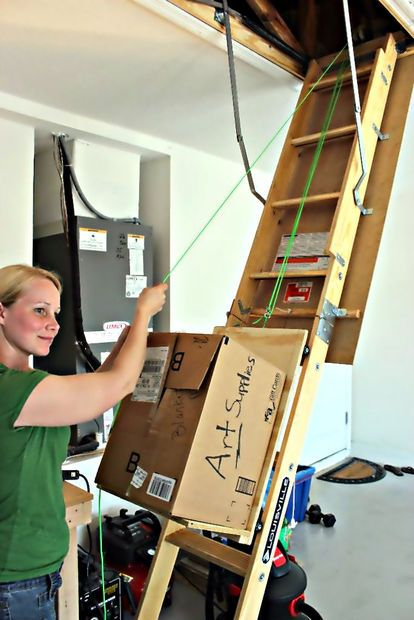 Attic Storage Assistance