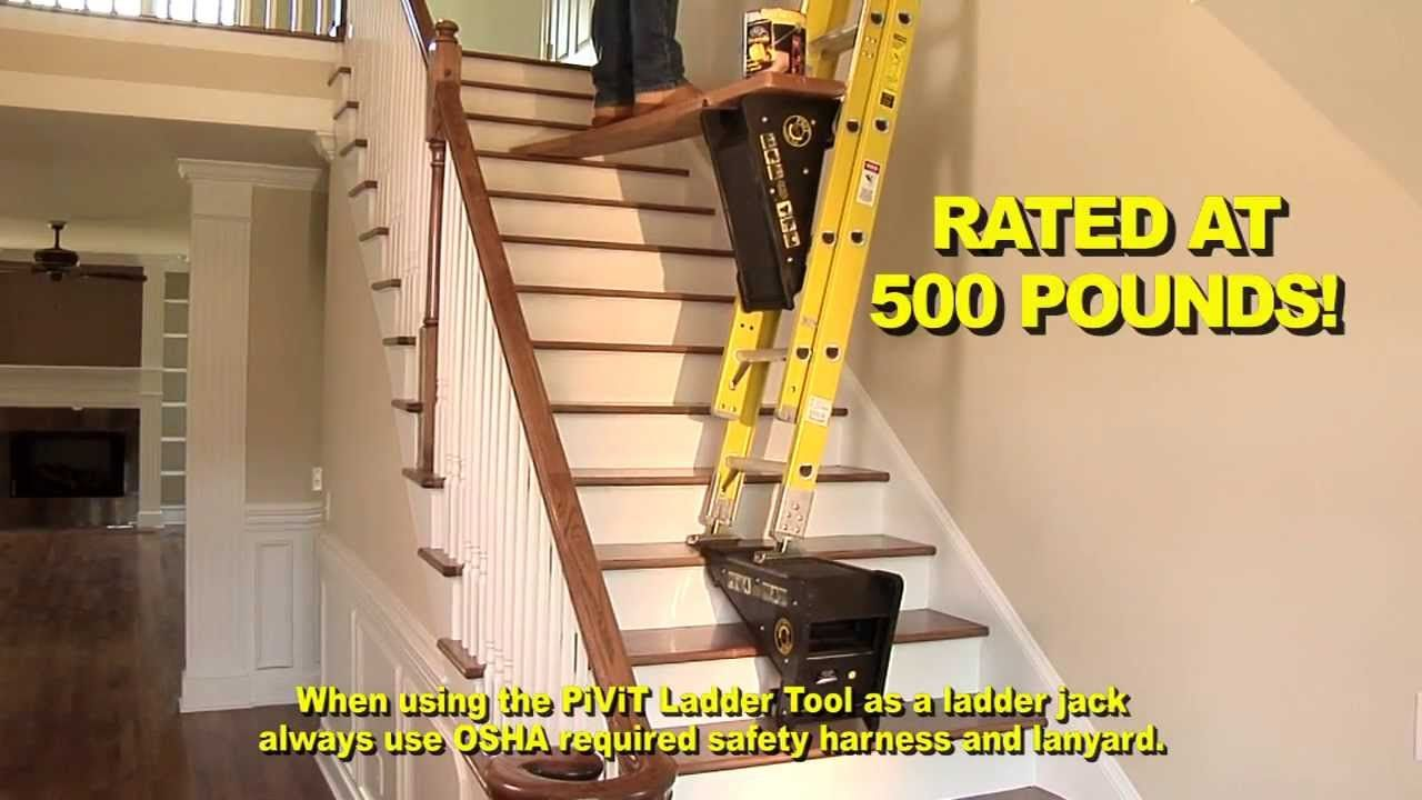 Whether You 39 Re Changing A Light Bulb Painting A Wall Or Working On A Roof Provisiontools Inc Has Th Ladder Accessories Diy Ladder Diy Home Improvement