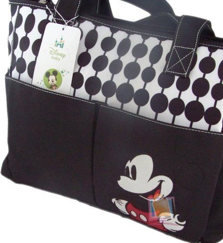 Mickey Oval Dots Double Front Pocket Tote Diaper Bag Disney http://www.amazon.com/dp/B00FQKZ2HU/ref=cm_sw_r_pi_dp_wyiZtb1AMH85VZEN
