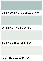 Picking Paint Colours I M Looking For A Really Cool Blue Or Green