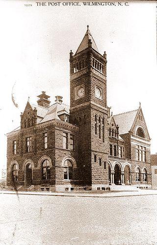 Vintage Wilmington Old Post Office Vintage Post Office