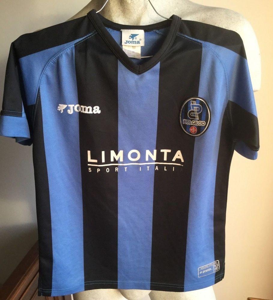 bfc5a862437 Maglia calcio pisa joma football shirt jersey 2006 bambino 10 anni ...