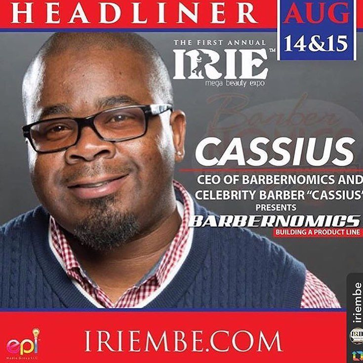 #Repost @iriembe with @repostapp  @iriembe:Barbers are you READY?? Well we are!  We have Cassius of @barbernomics booked to provide you with the knowledge to take your business to the next level. Register for his class today at www.iribembe.com.  #wardrobe #beauty #iriembe #class #barber #epimediagroup #floridabarber #daytonabikeweek #barbernomics #barberschool #barbercollege #sharktank #blackenterprise #atlantahairstylist #atlantabarber #entrepreneur #productline