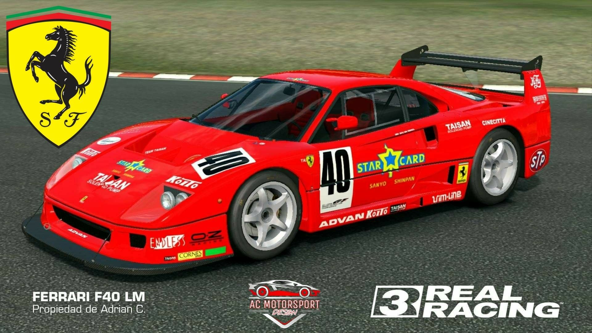 Livery For Real Racing 3